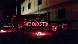 cash for dead cars hearse